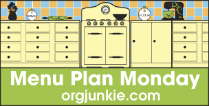 Monday Meals: Weekly Meal Plan