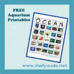 Teachable Tuesdays: FREE Aquarium Printables