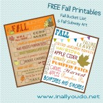 Sew Its Saturday: FREE Fall Printables