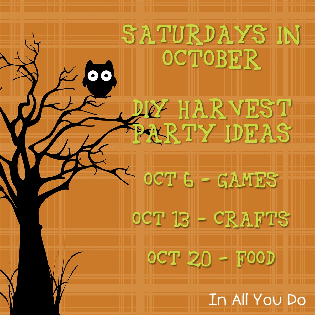 DIY Harvest Party: Food