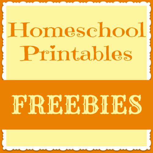 Homeschool Printables button