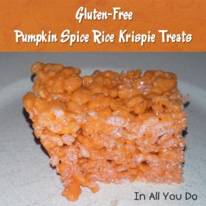 Gluten-Free Fall Recipes - In All You Do