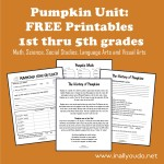 Pumpkin Unit Printables *UPDATED*