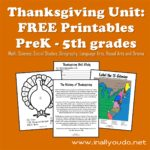 Thanksgiving Unit: FREE Printables