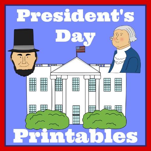 President's Day printables