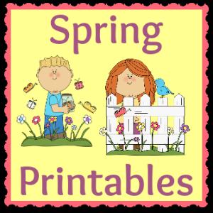Spring Printables 300button
