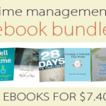 Time Management eBook Bundle only $7.40!!!!
