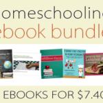 Homeschooling 5 eBook Bundle only $7.40!!!!