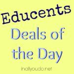 Educents Deals of the Day: Online Foreign Language, Creativity Box & Home Management Printables
