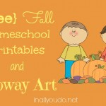 {free} Fall Printables & Unit Studies