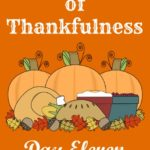24 Days of Thankfulness ~ Day 11