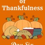 24 Days of Thankfulness ~ Day 6