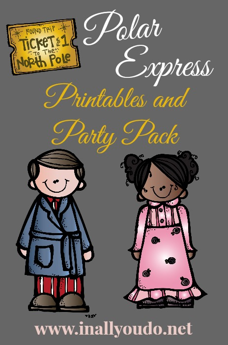 Polar Express Printables & Party Pack