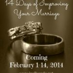 14 Days of Improving Your Marriage {a series}