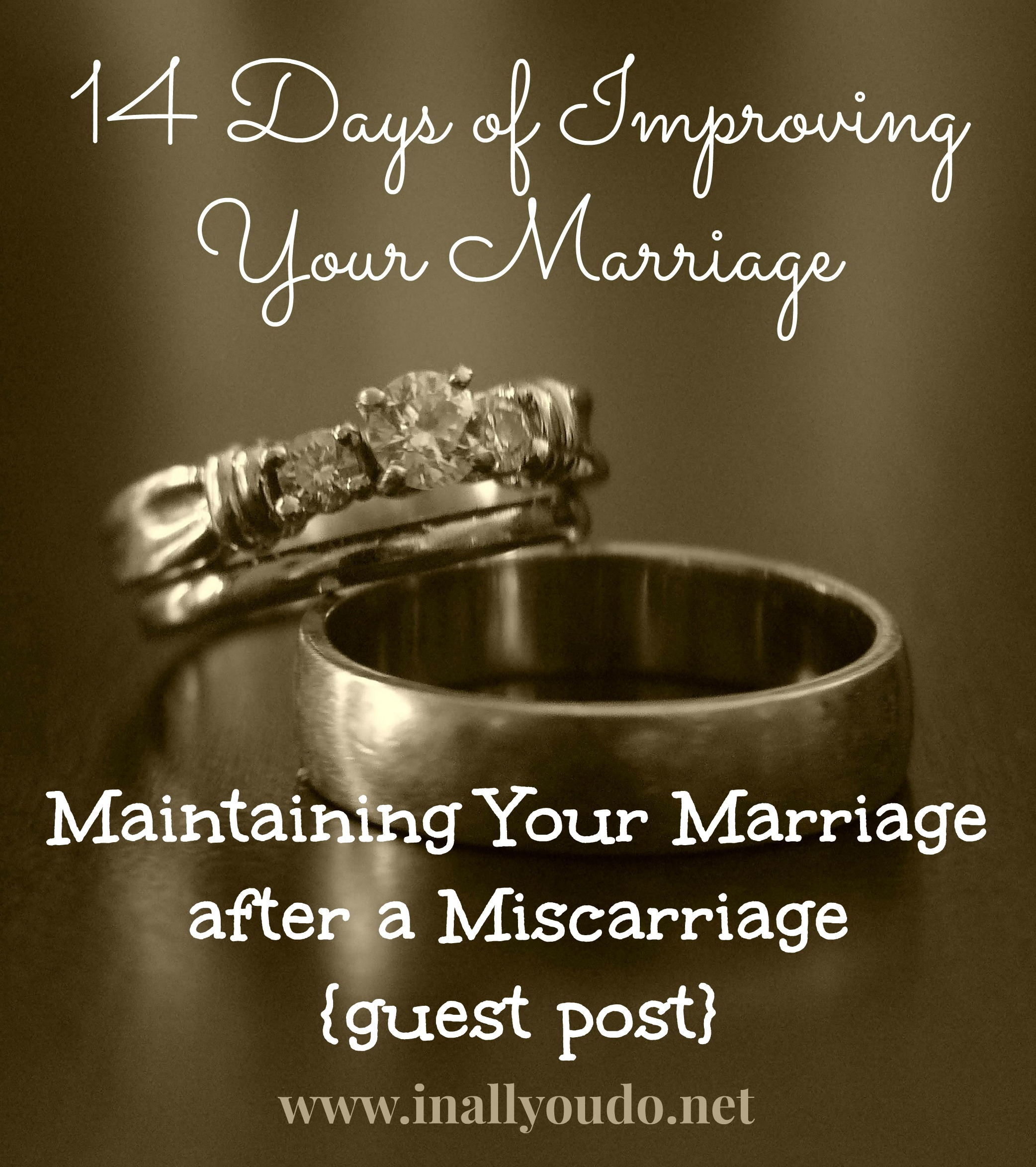 Day 11 ~ Maintaining Your Marriage after a Miscarriage {guest post}