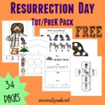 {free} Resurrection Day Tot & PreK/K pack + Emergent Readers