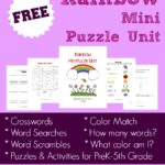 {free} Rainbow Mini Puzzle Unit