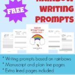 {free} Rainbow Writing Prompts