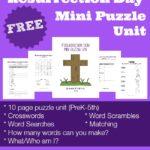 Resurrection Day Mini Puzzle Unit