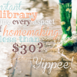 Character Badges in Ultimate Homemaking Bundle {a review}
