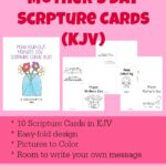 FREE Mother's Day KJV Scripture Cards