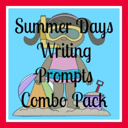 Summer Days Writing Prompts {free printables}