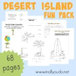 NEW: Desert Island Mini Unit {subscriber freebie}