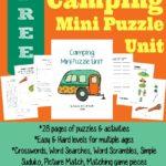 Camping Mini Puzzle Unit