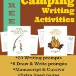 Camping Writing Activities