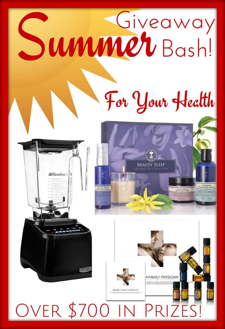 HUGE Summer Bash Giveaway ~ 3 winners