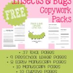 Insects & Bugs Copywork Packs