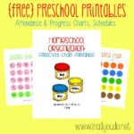 Homeschool Organization: Toddler Schedules {pt 2}