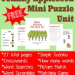 {free} Johnny Appleseed Mini Puzzle Unit