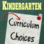 2014-2015 Kindergarten Curriculum Choices