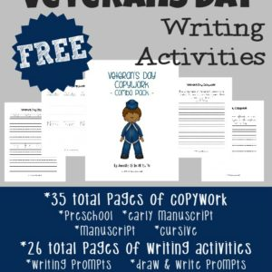 These Veterans Day Writing Activities are a great way to introduce kids to poetry as well as work on their creative writing skills. :: www.inallyoudo.net