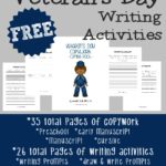 Veteran's Day Writing Activities {free printables}