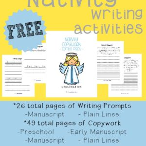 Teach your kids the importance of Christ this Christmas Season with these Nativity themed Writing Activities.These fun Writing Activities include 75 pages of Writing Prompts, Draw & Write Prompts & Copywork for PreK-5. :: www.inallyoudo.net