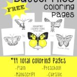 Spring is coming and butterflies will be flying around!! Grab these fun coloring pages to get ready! :: www.inallyoudo.net