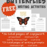 {free} Butterfly Writing Activities & HfH Blog Hop