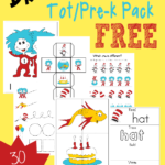 FREE Dr. Seuss Tot & PreK-K Pack {30 pages}