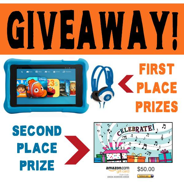 Homeschool Giveaway - win a Kid's Kindle Fire with Volume Limiting Headphones!!! {Ends 3/31/15} :: www.inallyoudo.net