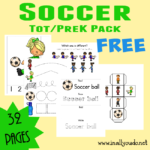 {free} Soccer Tot & PreK/K Pack {32 pages}