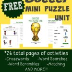 This FREE Soccer Mini Puzzle unit is perfect for a fun day of school or those kids learning to play soccer!! :: www.inallyoudo.net