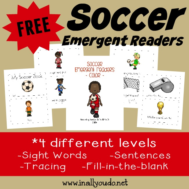 Soccer Emergent Readers_Square