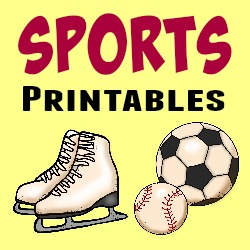 Sports Printables button