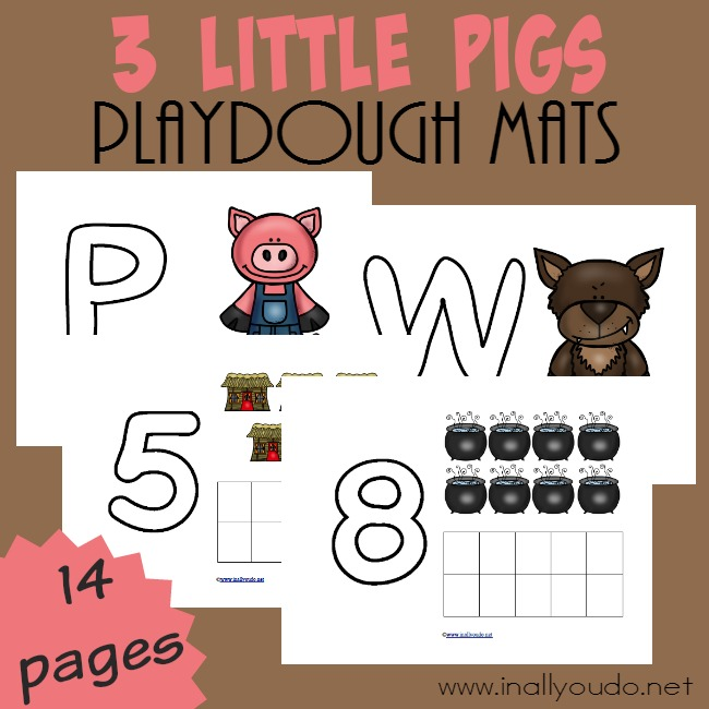 FREE 3 Little Pigs Puzzles_square