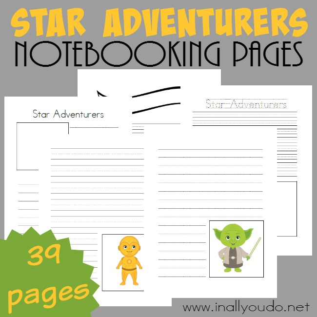 Star Adventurers Notebooking Pages