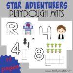 Star Adventurers Playdough Mats