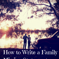 Tips on how to write a family mission statement that is Scripture-based
