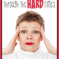 Homeschooling through the HARD times is difficult. Read on for encouragement for the weary Homeschooling Mom!! :: www.inallyoudo.net